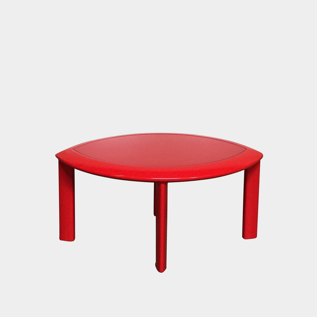 Premiere Red Side Table, Side Table - Modern Resale