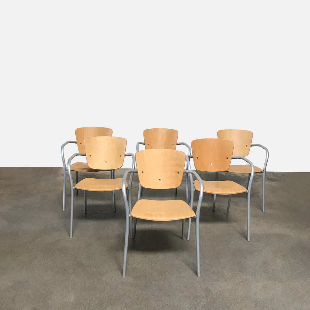 Scolasta Dining Chairs (set of 8), Dining Chair - Modern Resale