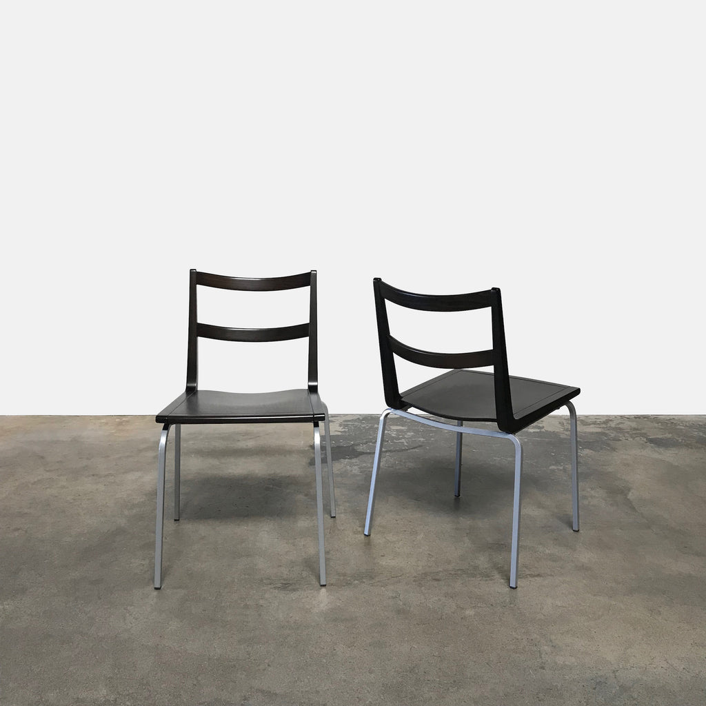 Wenge Stackable Dining Chairs (5 in stock), Dining Chair - Modern Resale