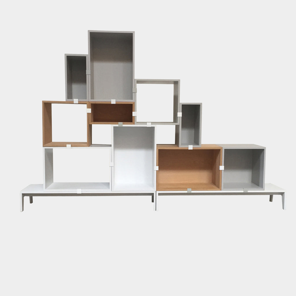 Muuto Multi Colored Stacked Storage System by Julien De Smedt