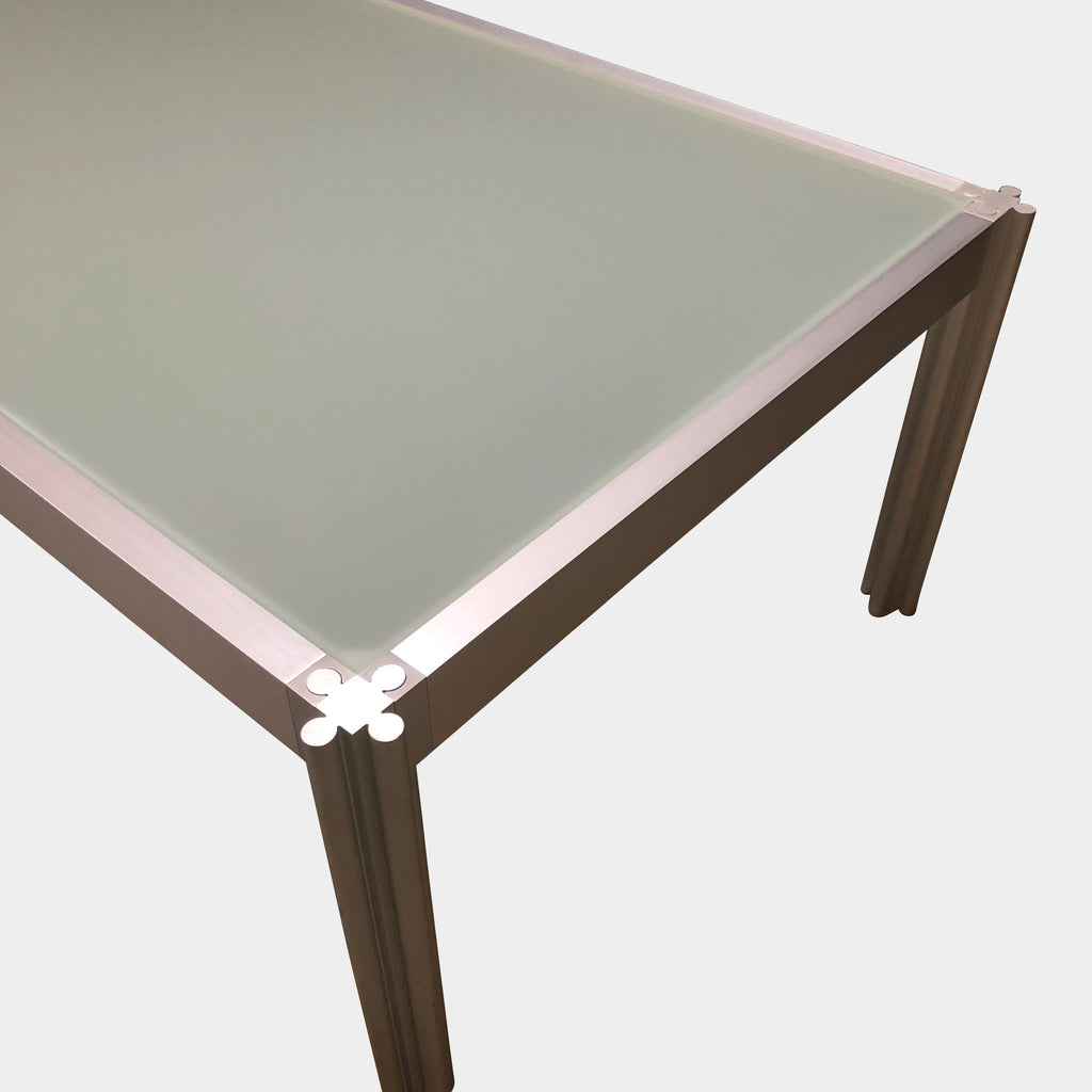 Frosted Glass Coffee Table - Modern Resale