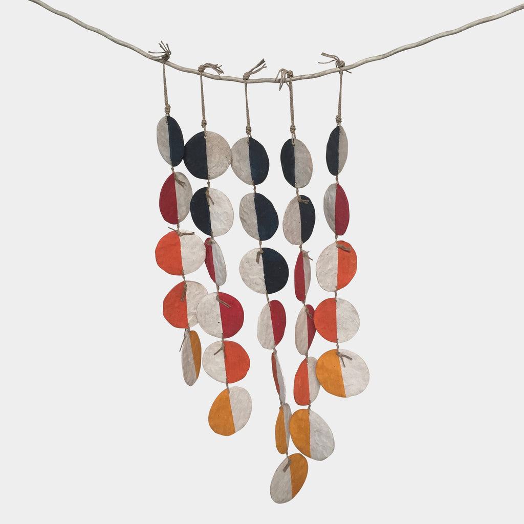5-Strand Multi-Colored Hanging Set, Accessories - Modern Resale