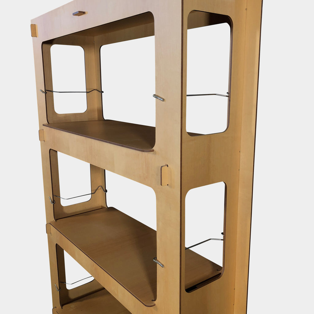 Driade Ombra Plywood Bookcase and Shelving Unit