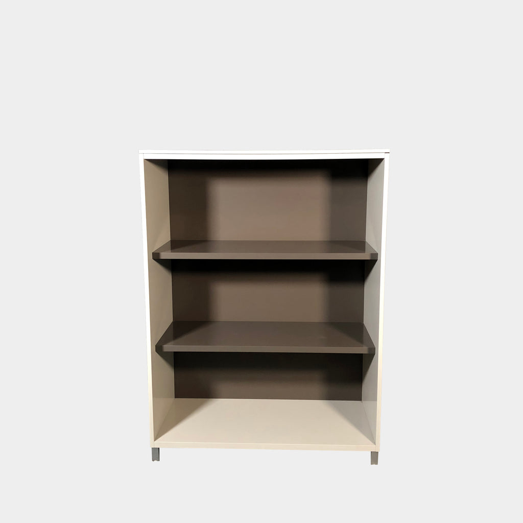 Ligne Roset 3 tone neutral lacquer 'Everywhere' Bookcase | Los Angeles Consignment. Save thousands of dollars online or in our designer furniture outlet. Shop upscale furniture consignment from Los Angeles elite homes, showroom closings, overstock & liquidations. 40-70% discount below retail. Ships to New York & beyond.