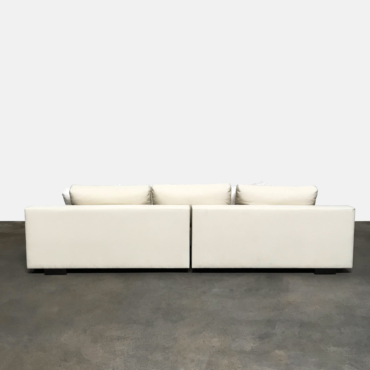 Holly Hunt Cream 'Augustin' Sofa by Christian Liaigre
