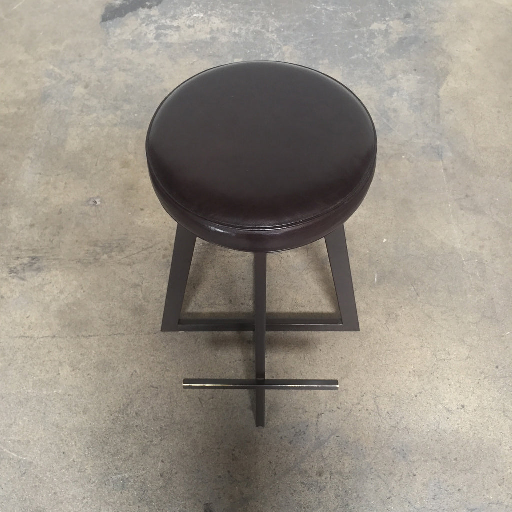 Cross-Base Bar Stools (Set of 4), Bar Stool - Modern Resale