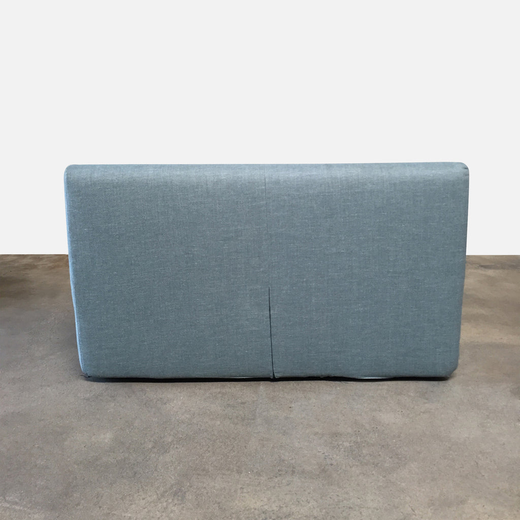 DWR Blue Full Size Nest Storage Bed Blue by Niels Bendtsen