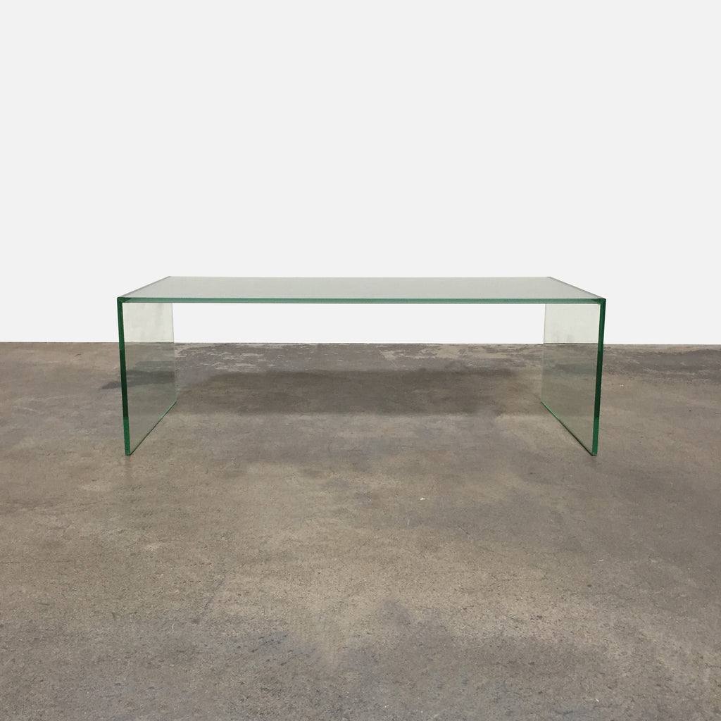 DWR 'Pool' Glass Coffee Table Front