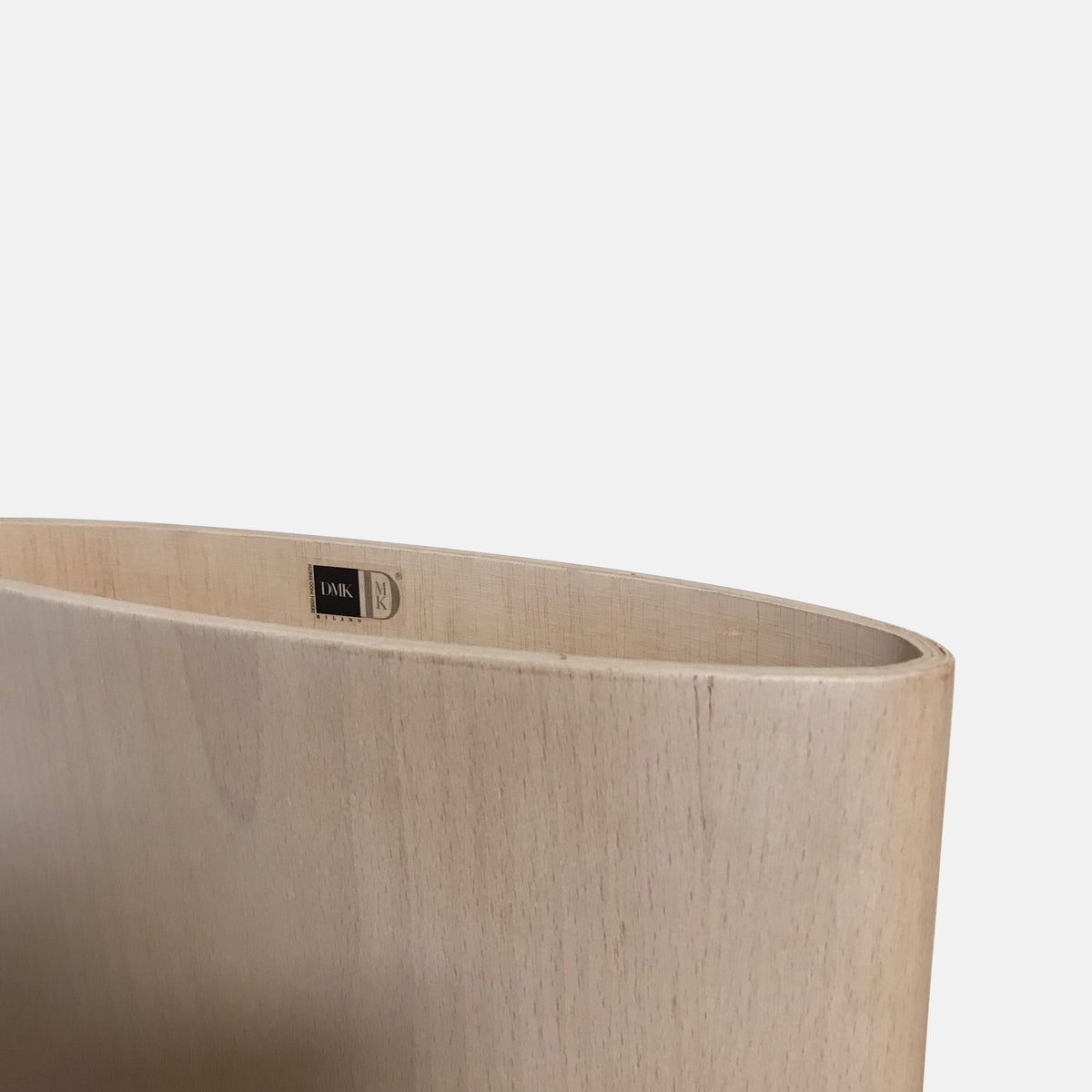 DMK Bent Wood Vase by Ingo Knuth