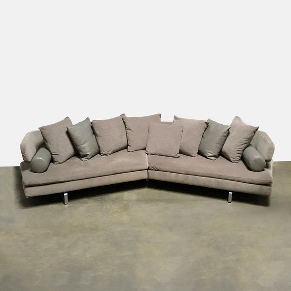 Bb italia furniture prices Maxalto Bb Italia arne Greybown Sectional By Antonio Citterio Modern Resale Authenticated Bb Italia Consignment Furniture From Las Elite