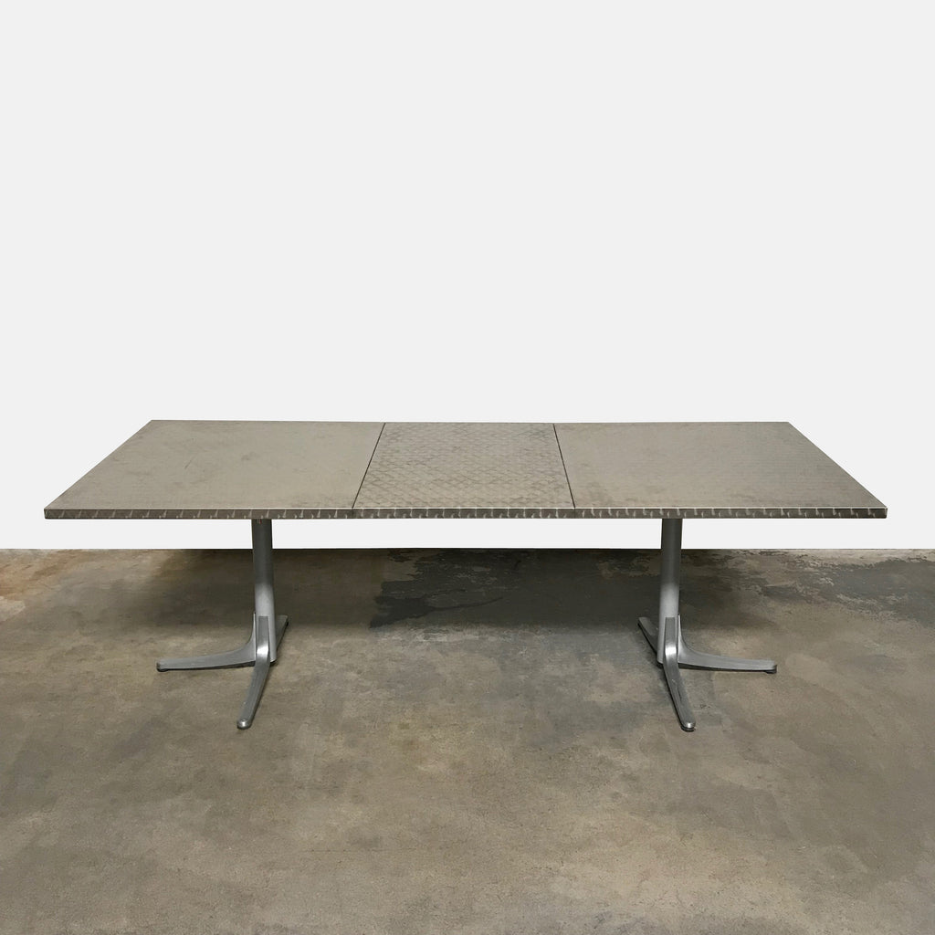 Inox Extendable Outdoor Dining Table, Dining Table - Modern Resale