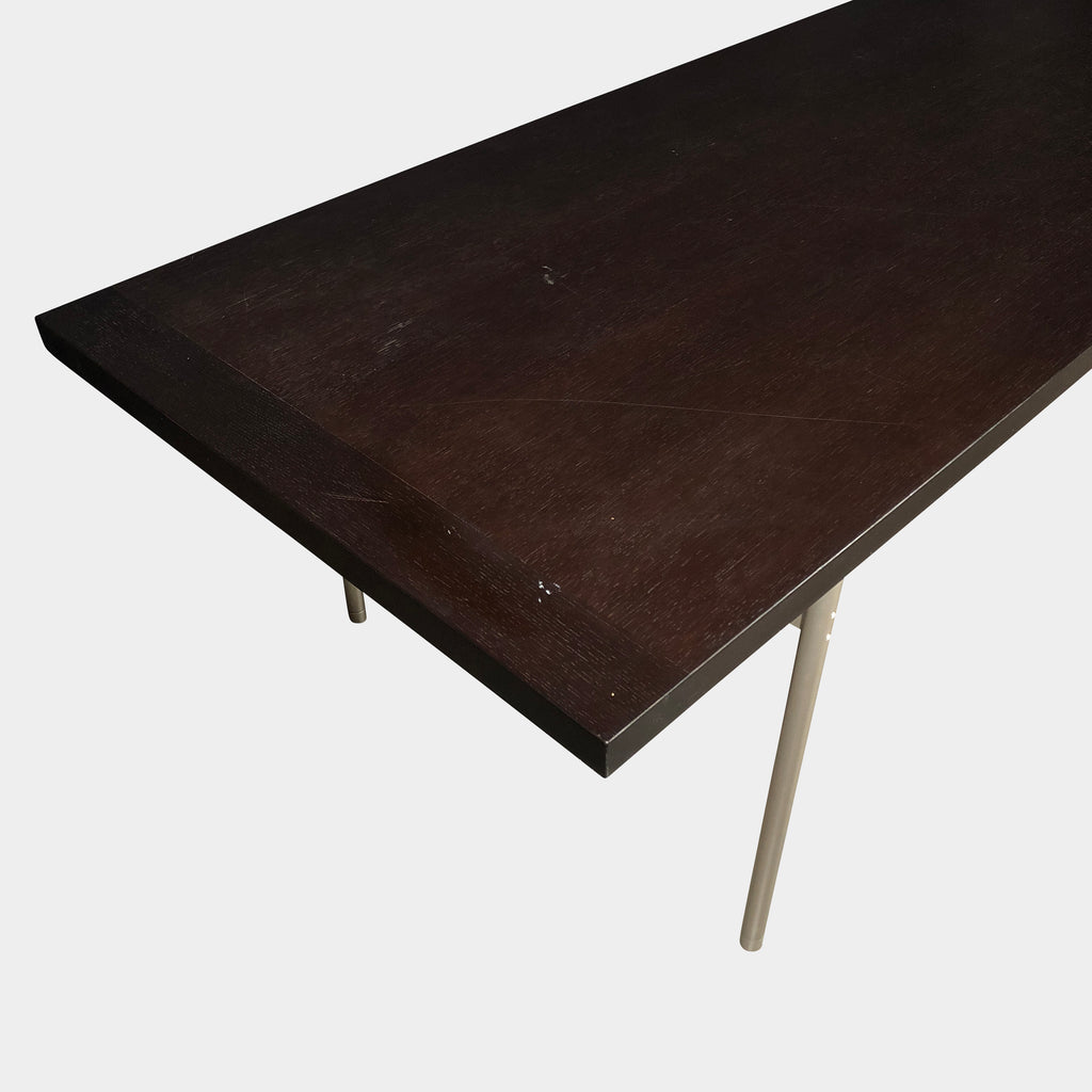 Italian Brown Oak Dining Table, Dining Table - Modern Resale