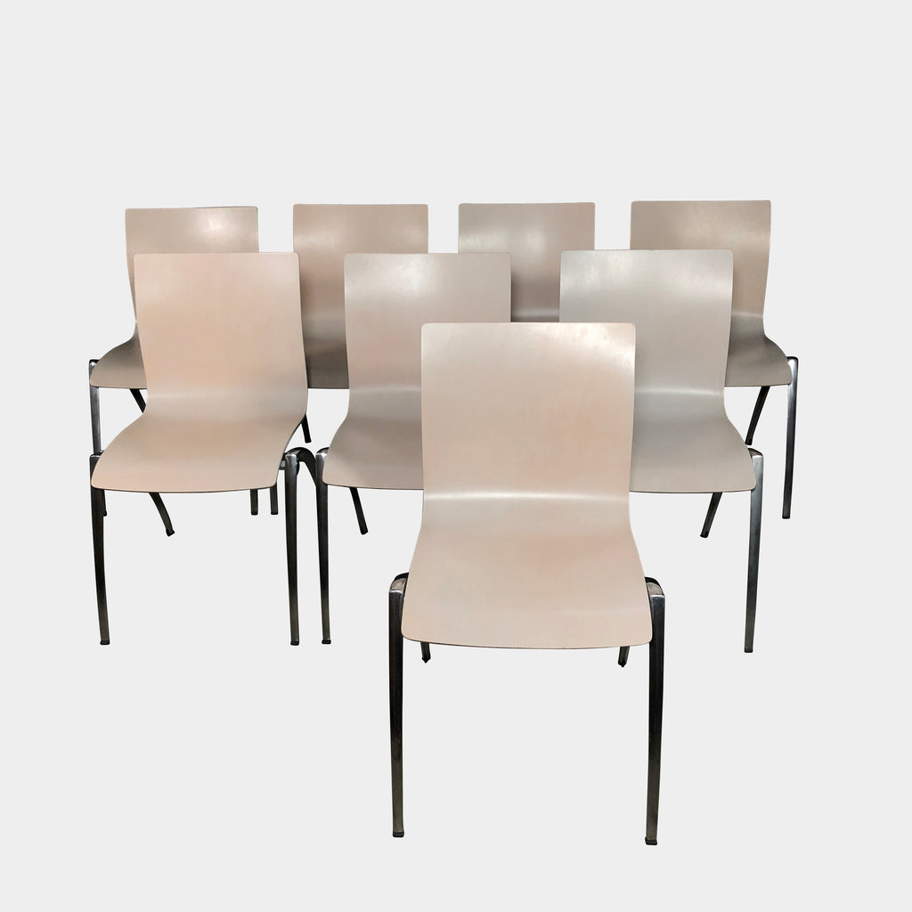 Italian Dining Chairs Set of 8 Wood Dining Chairs | LA | Consignment