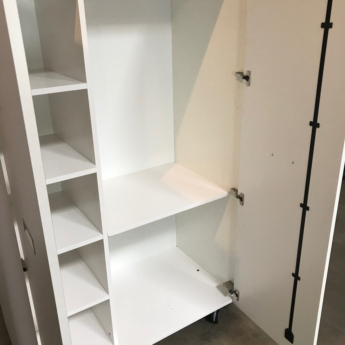 Travel Studio Wardrobe Unit on Castors