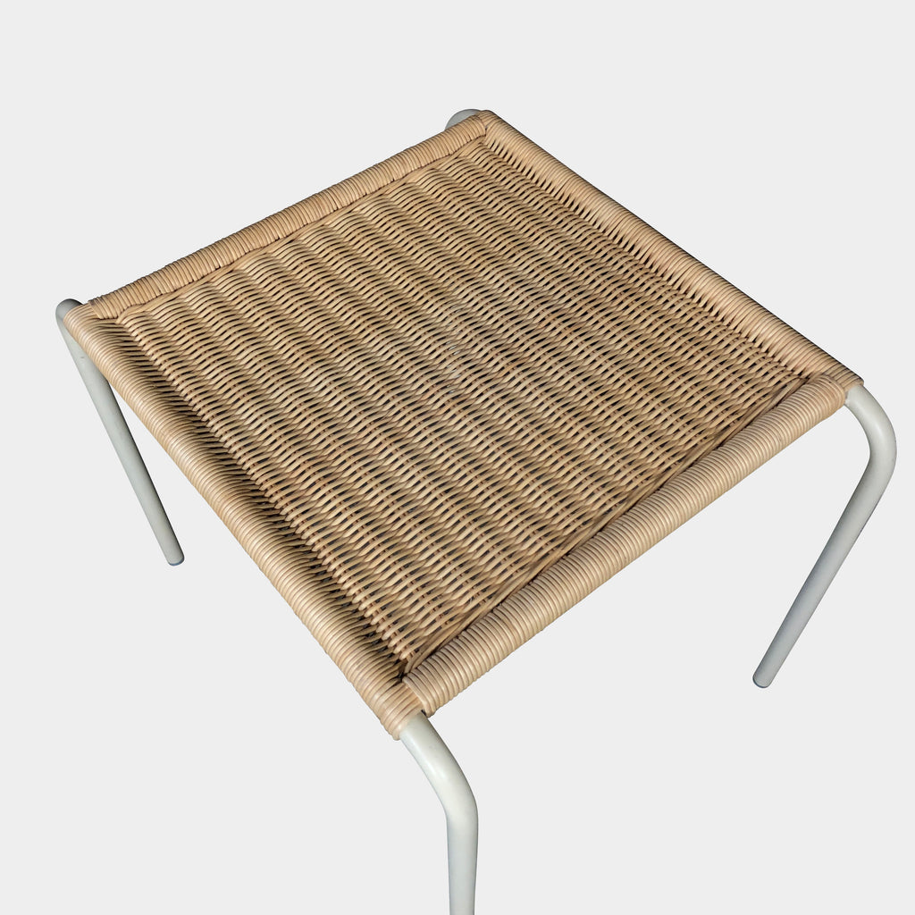 Wicker Side Table, Side Table - Modern Resale