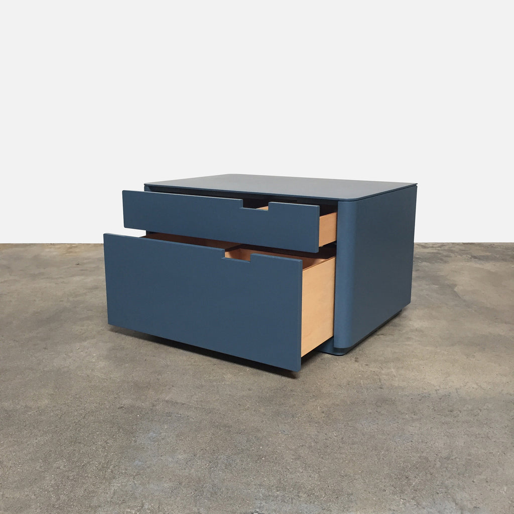 William Hefner Wyatt Blue Nightstands 2 in stock