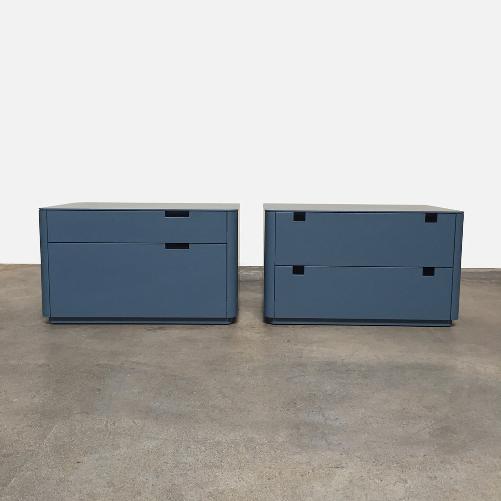 Wyatt Blue Nightstands