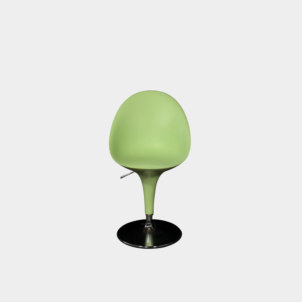 Magis Pistachio Colored Bombo Swivel Chair by Stefano Giovanonni