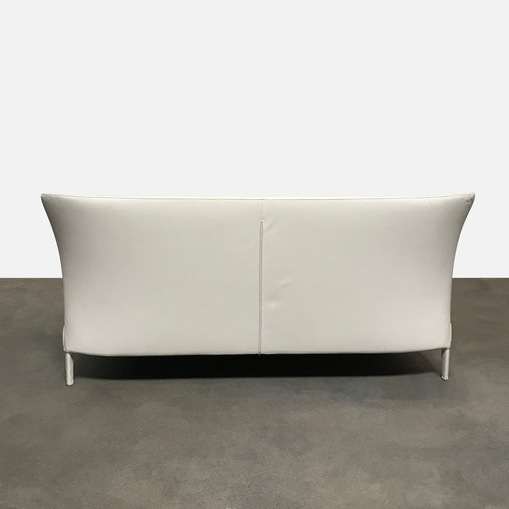 Maxalto Off White 'Febo' King Bed by Antonio Citterio
