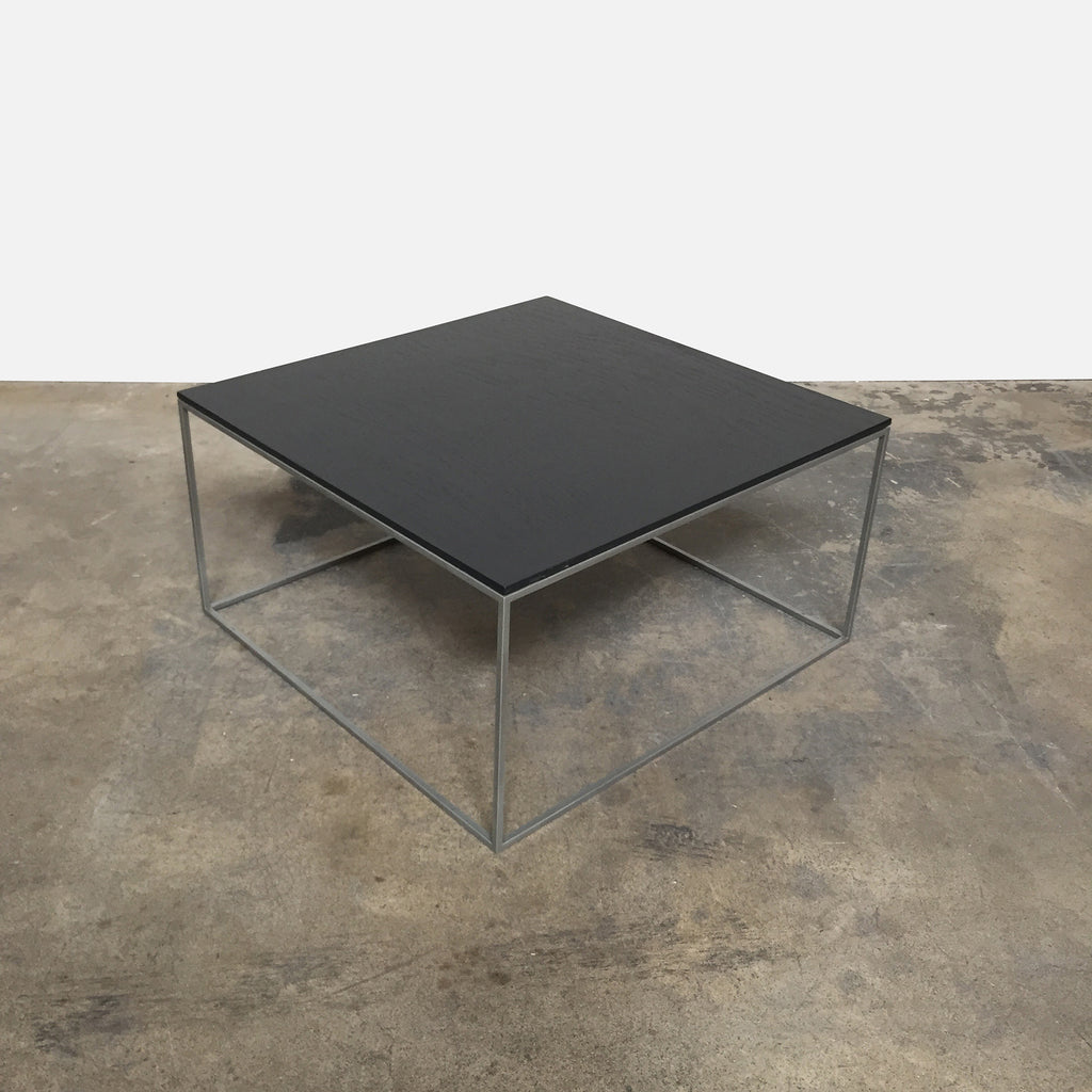 Black Wood Coffee Table, Coffee Table - Modern Resale