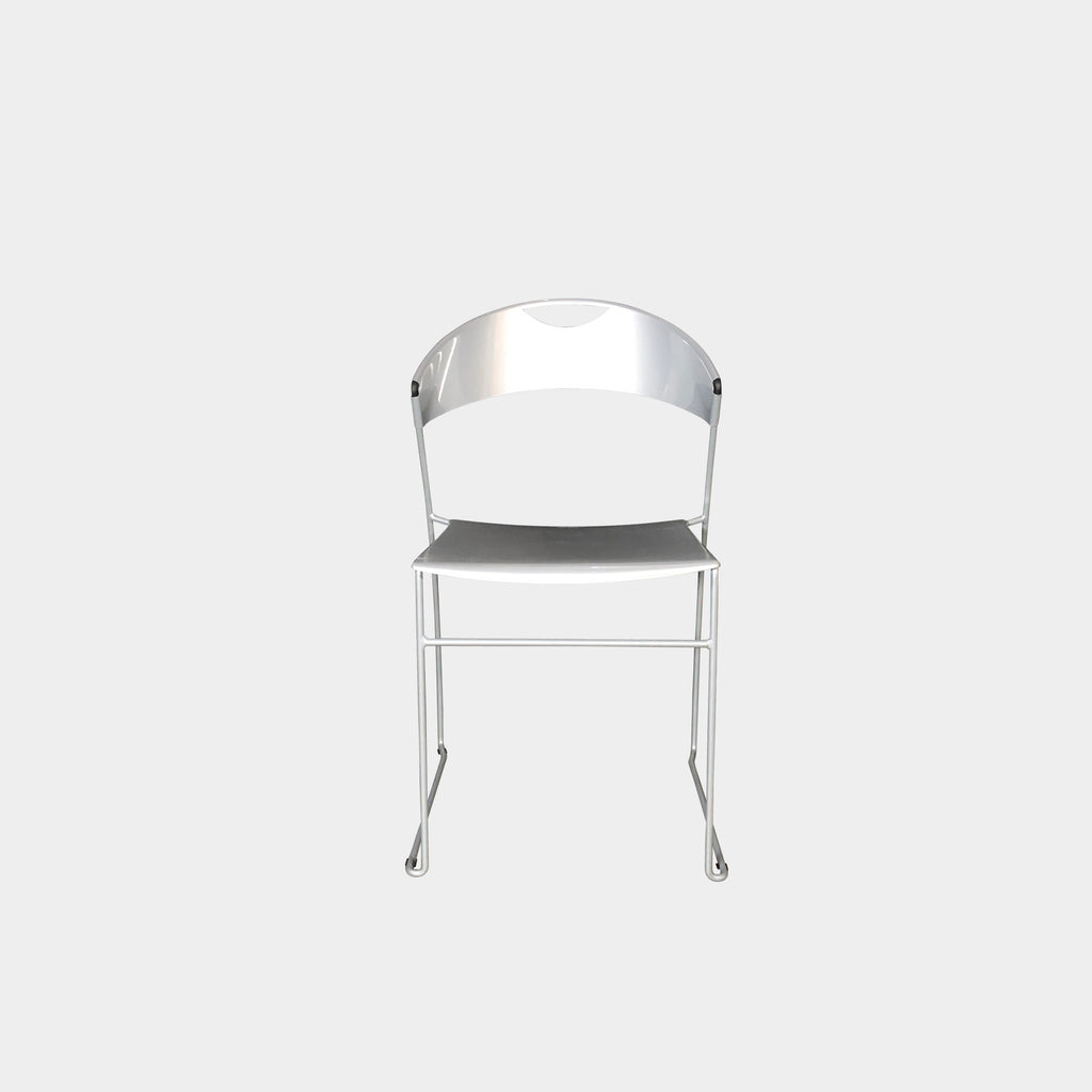 Juliette Stackable Chairs (2 in Stock), Dining Chair - Modern Resale