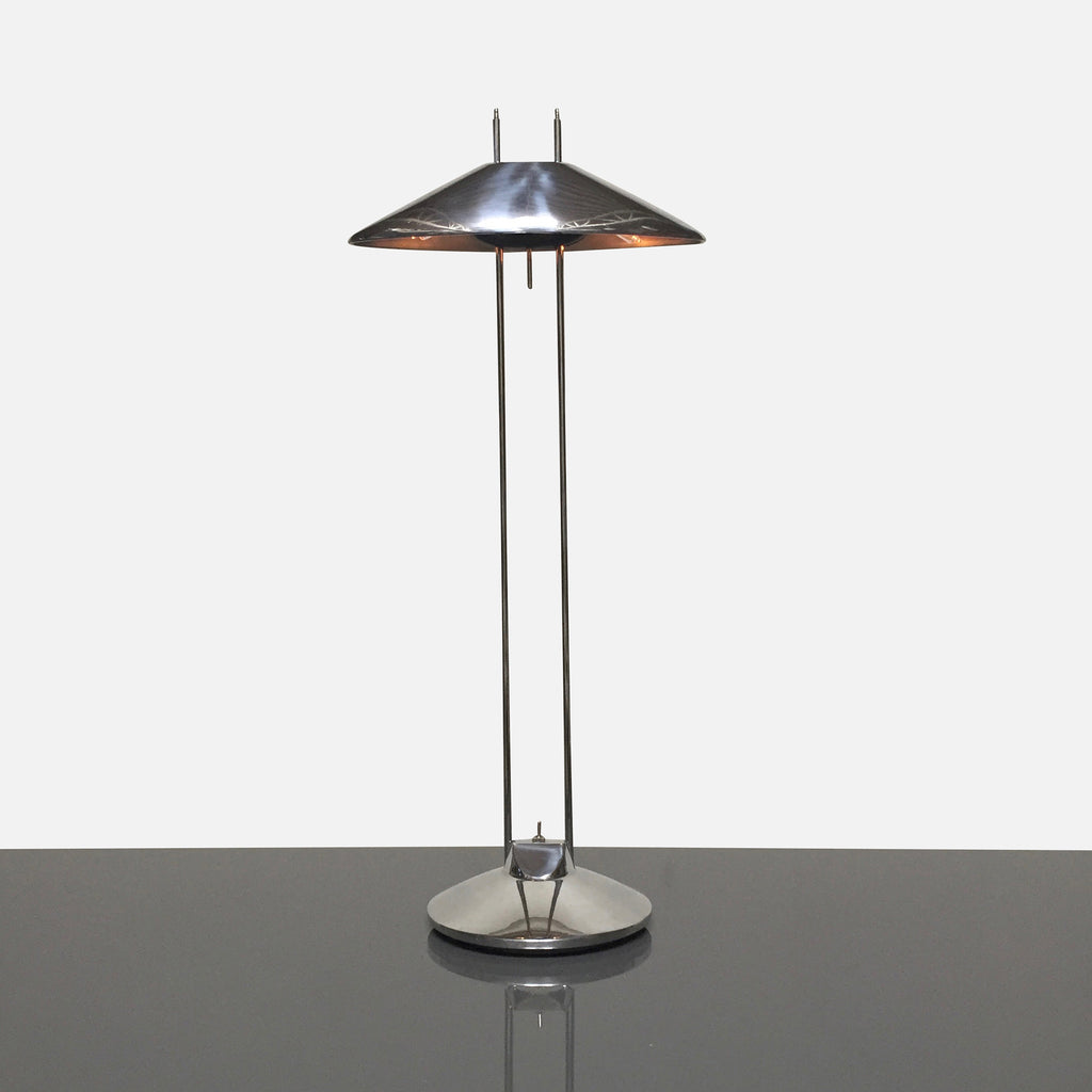 B.Lux 'Regina T' Chrome Table Lamp by Jorge Pensi (1988)