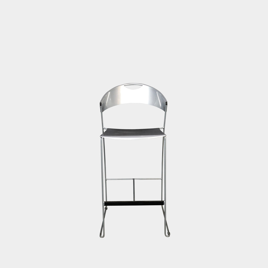 Silver Juliette Bar Stool