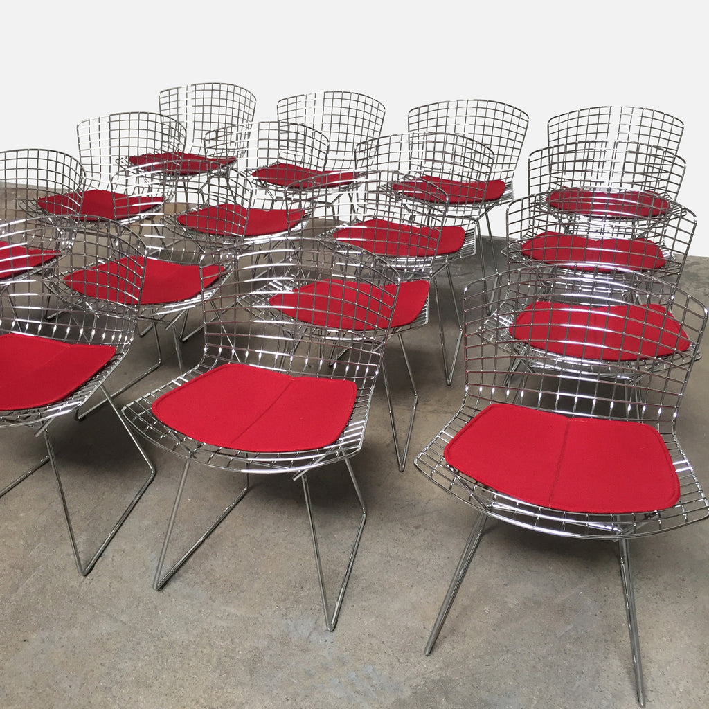 Bertoia Side Chairs, Dining Chair - Modern Resale
