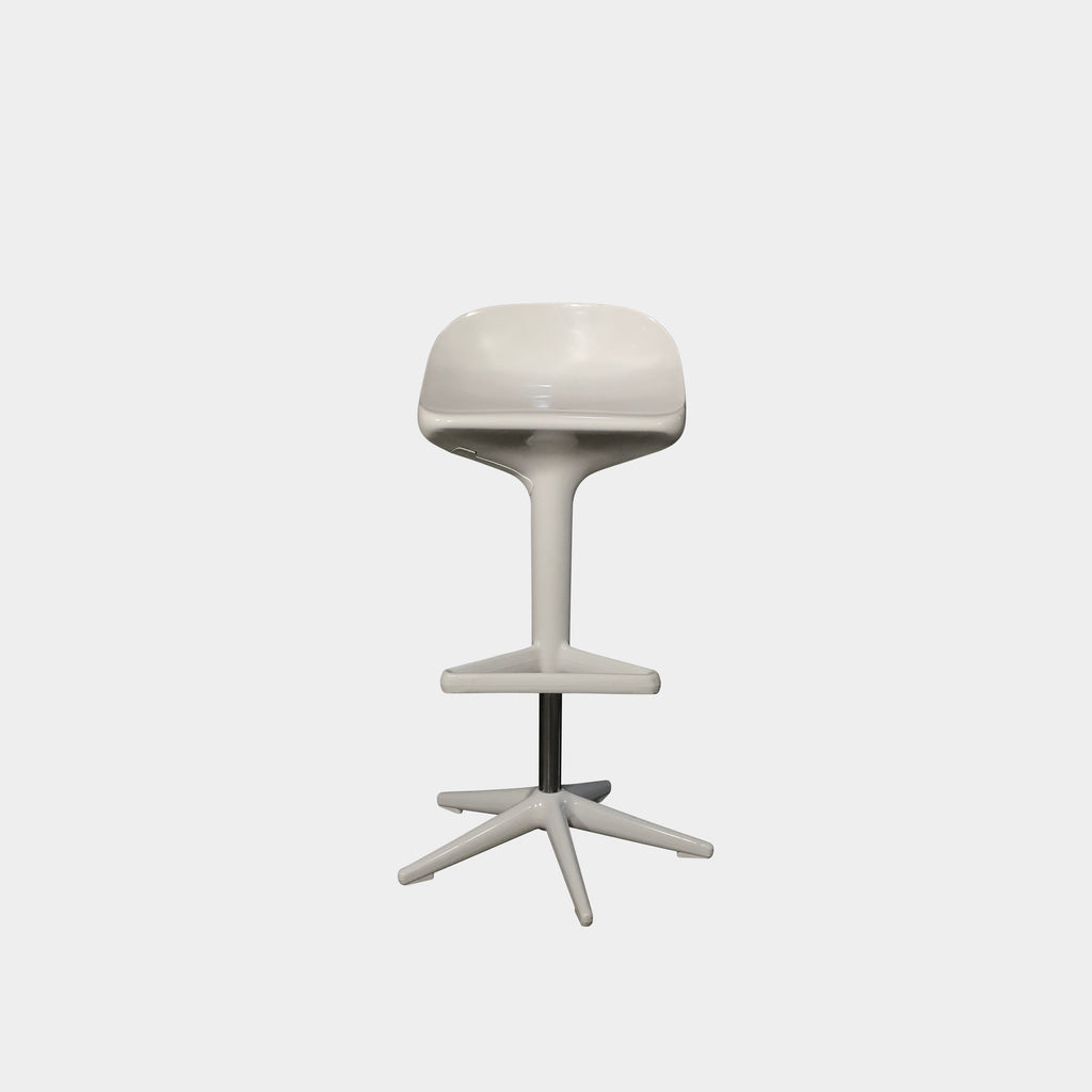 Kartell 'Spoon' Swivel Adjustable Stool