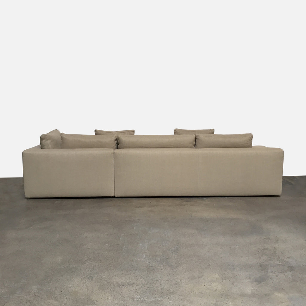 Miloe Sofa with Ottoman, Sofa - Modern Resale