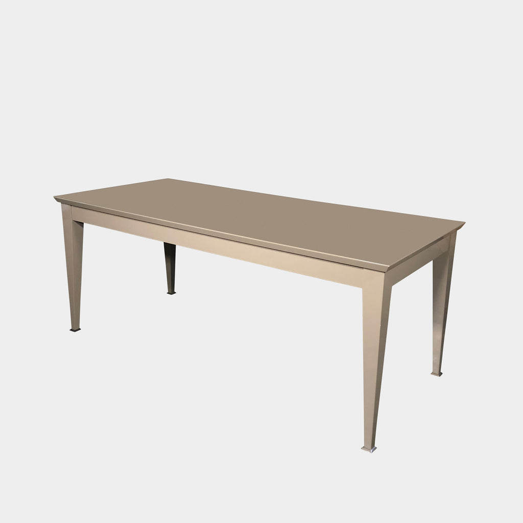 Taupe Lacquer Dining Table, Dining Table - Modern Resale