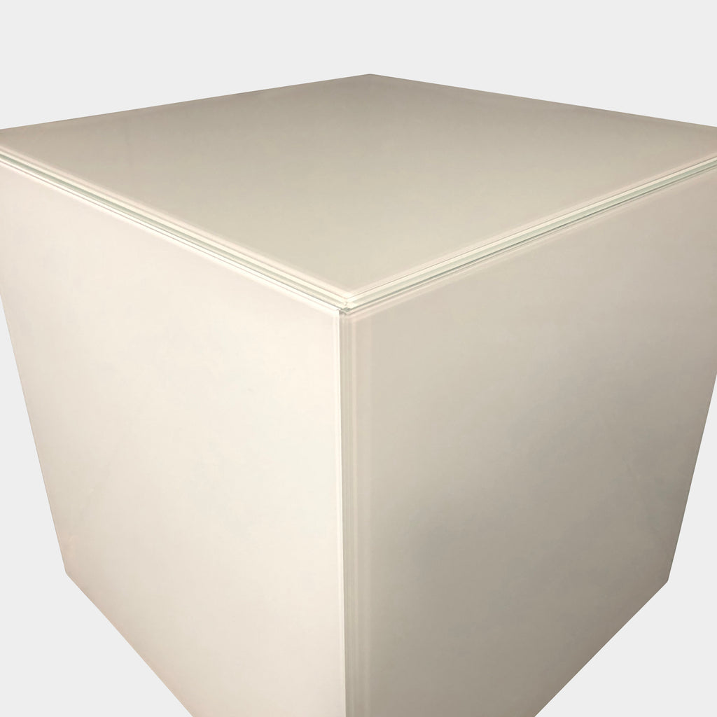 Vintage Cube Side Table, Side Table - Modern Resale