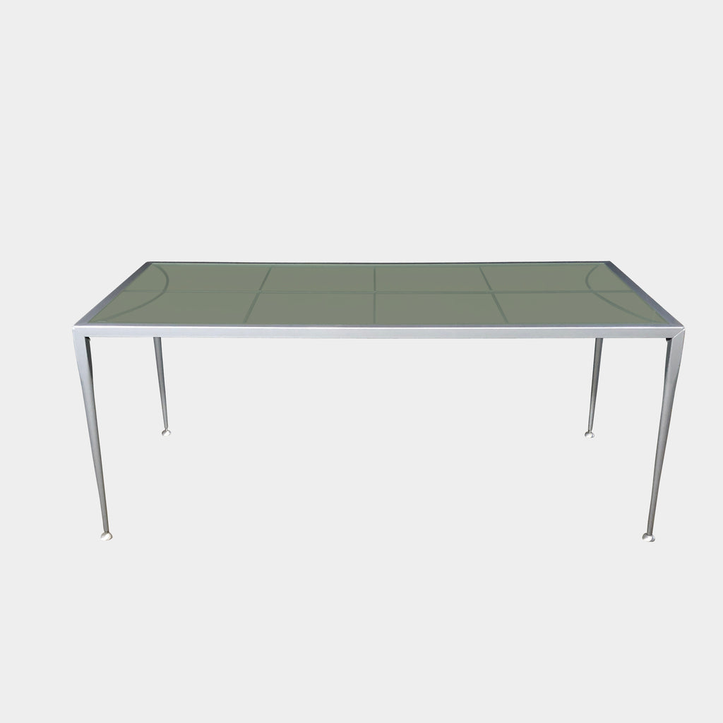 Frosted Glass Table, Dining Table - Modern Resale