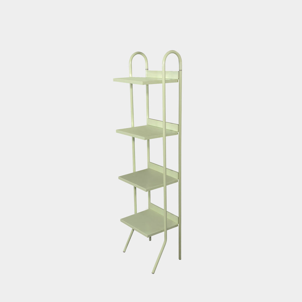 Driade Indoor/Outdoor Aluminum Sea Foam Green Shelf | LA Consignment