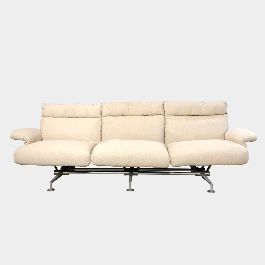 Vintage BB Italia Happy Hour Sofa Cream Fabric | LA Consignment
