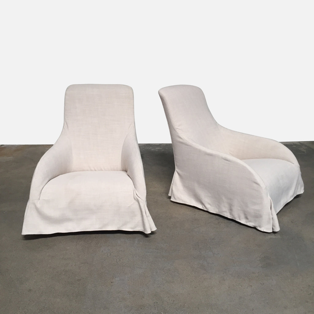 Kalos Swivel Chairs (2 in Stock), Swivel Chair - Modern Resale
