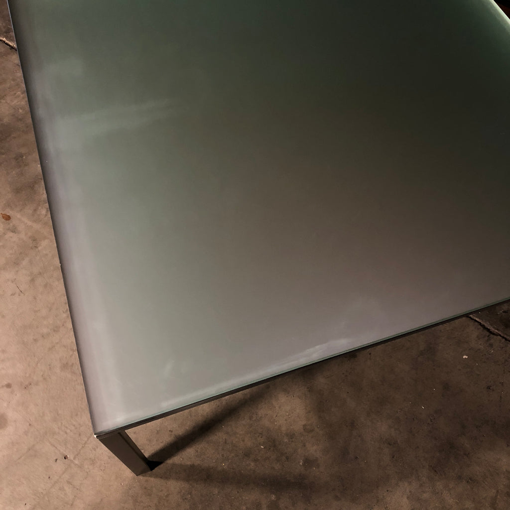 Frosted Mirror Coffee Table, Coffee Table - Modern Resale