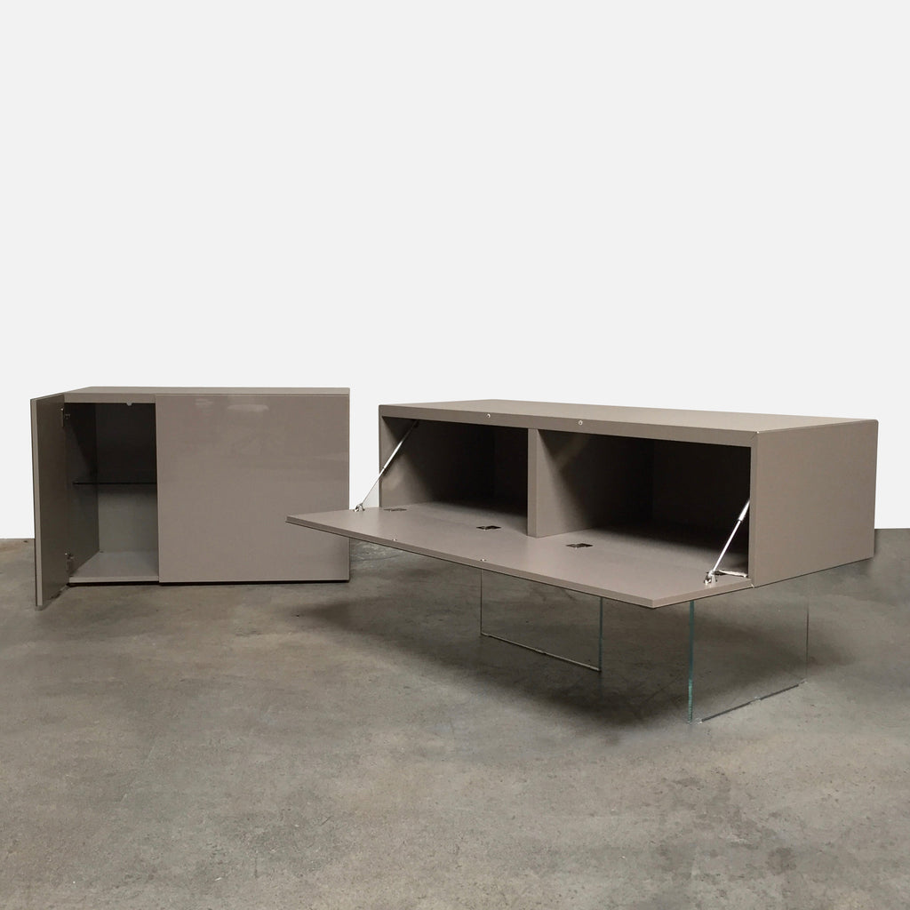 "Lago ""Air"" Sideboard by Daniele Lago, 2006  2 pieces"