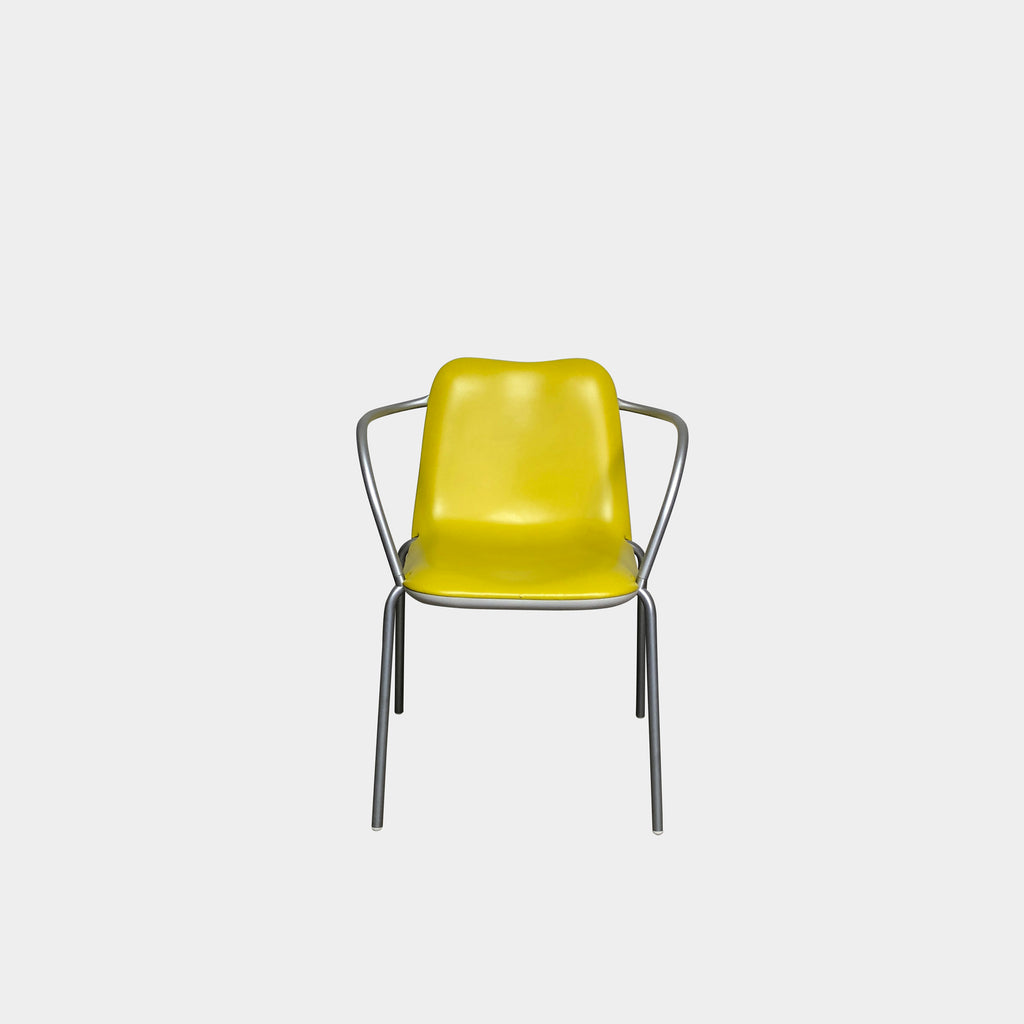 Kristalia Yellow Boum Chair by M. Graffeo and R. Magrini