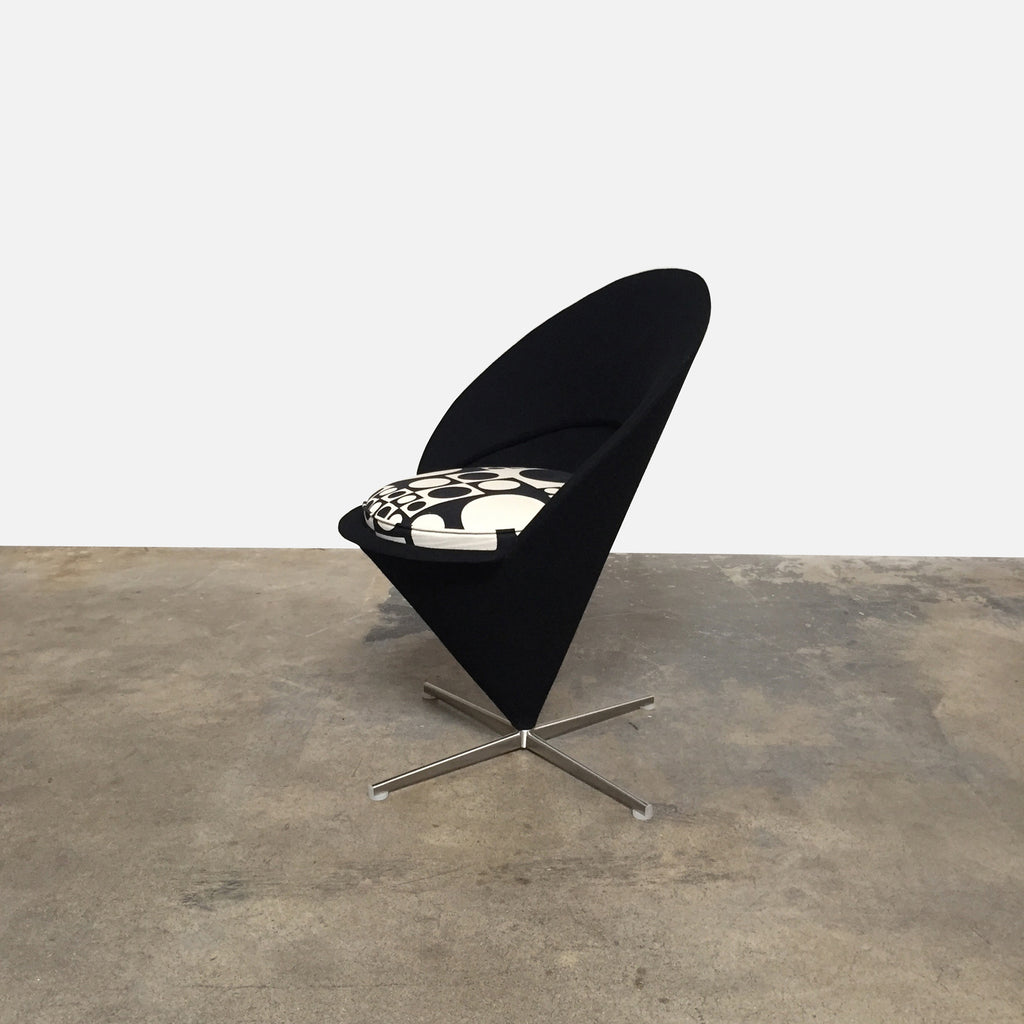 Vitra Cone Chair by Verner Panton side view