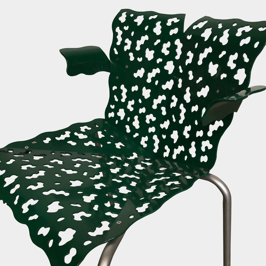 Green Outdoor Chair, Outdoor Chair - Modern Resale