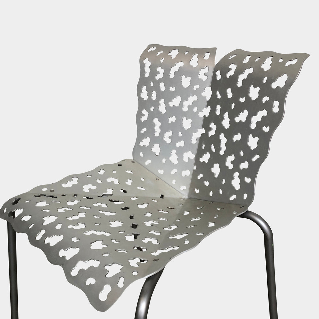 Silver Outdoor Chair, Outdoor Chair - Modern Resale