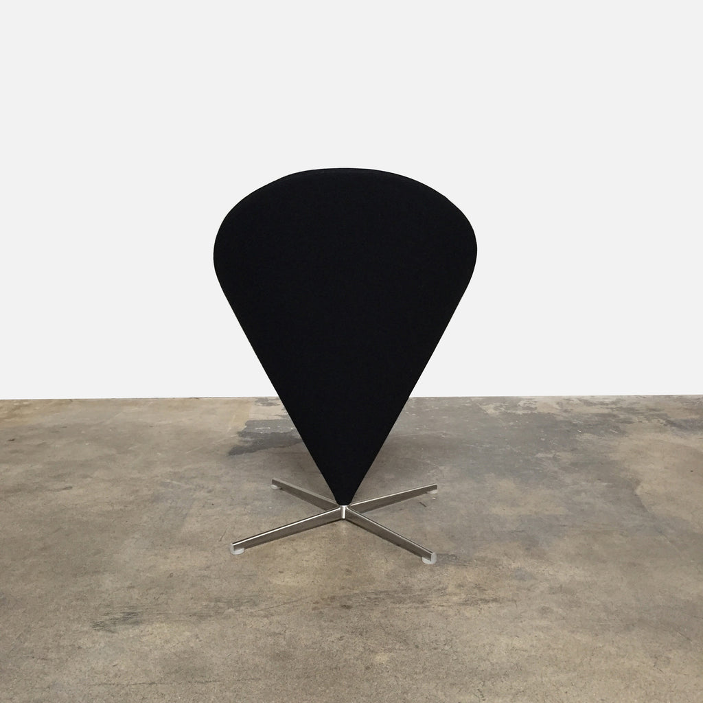 Vitra Cone Chair by Verner Panton back view
