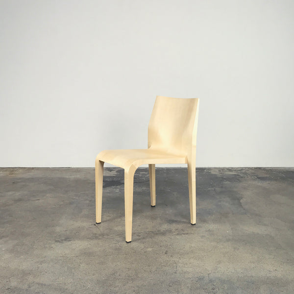 Laleggera Stacking Chairs - Natural Maple by Riccardo Blumer
