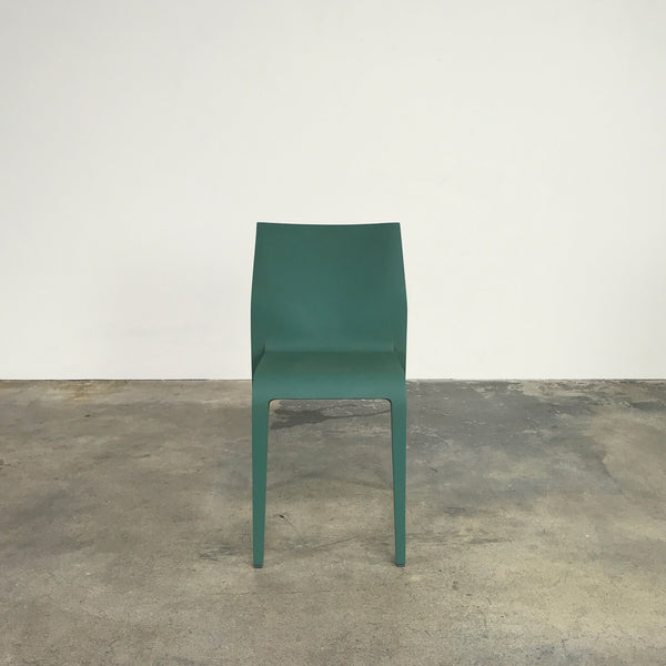 Alias Laleggera Green Stacking Chairs by Riccardo Blumer