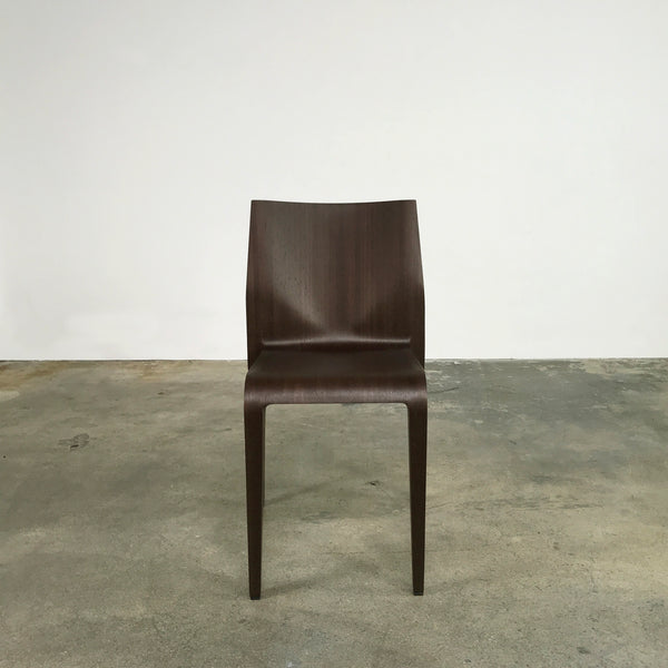 Laleggera Stacking Chairs - Wenge (3 in stock)