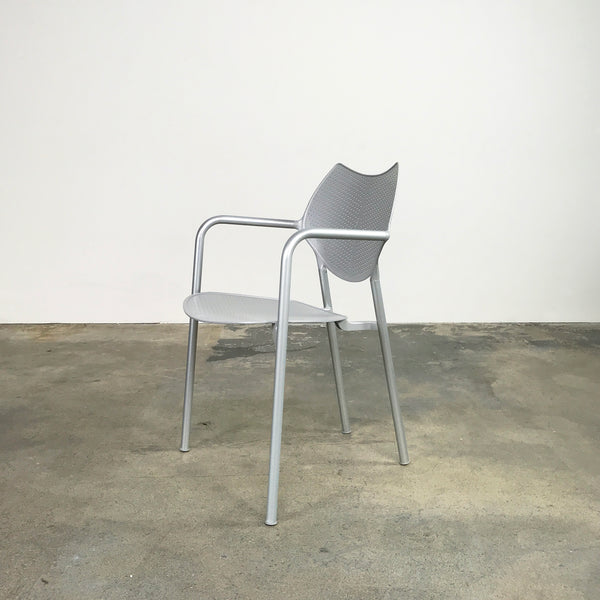 Driade Irta Chair in Aluminum by Jorge Pensi