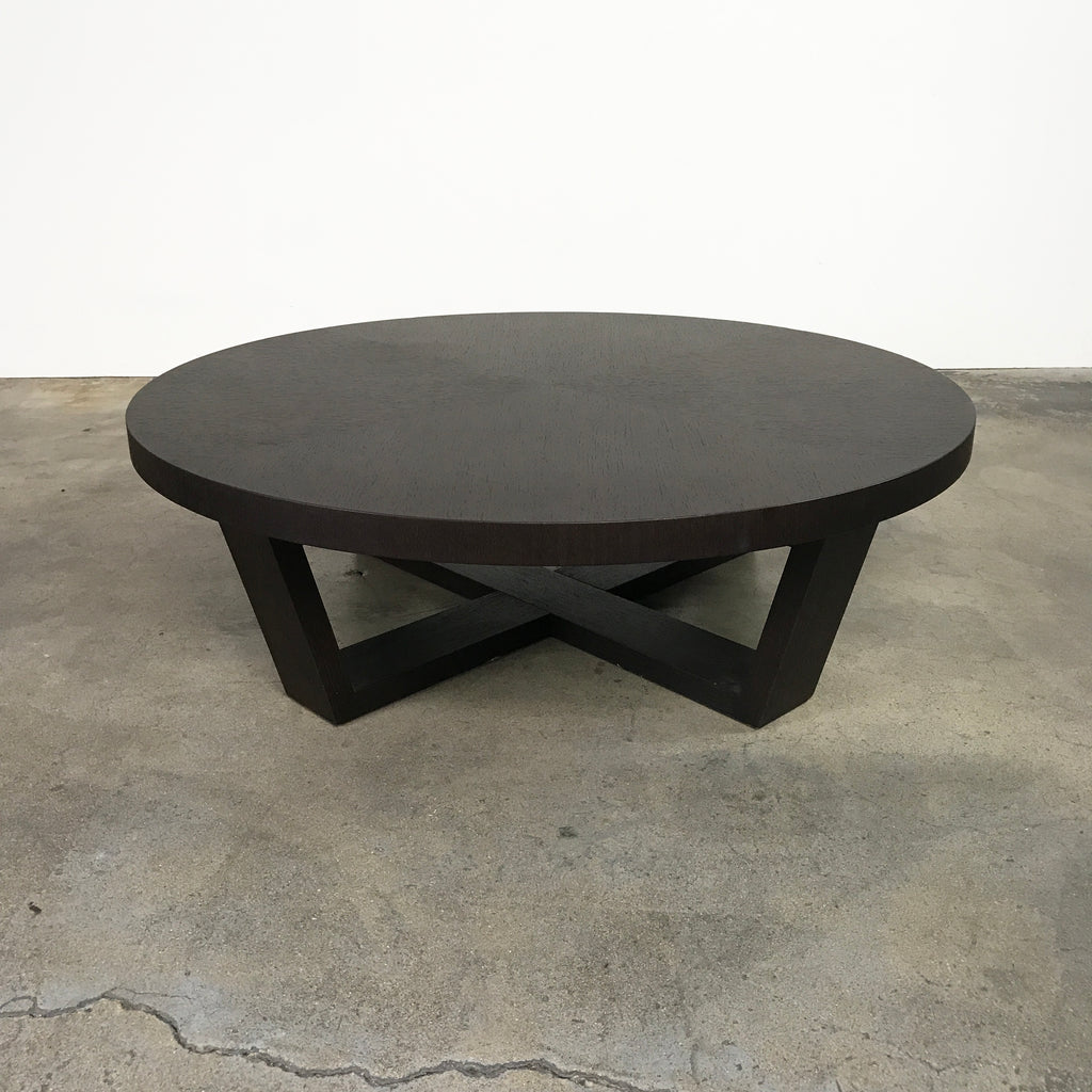 "Maxalto 48"" Wenge Xilos Coffee Table by Antonio Citterio"