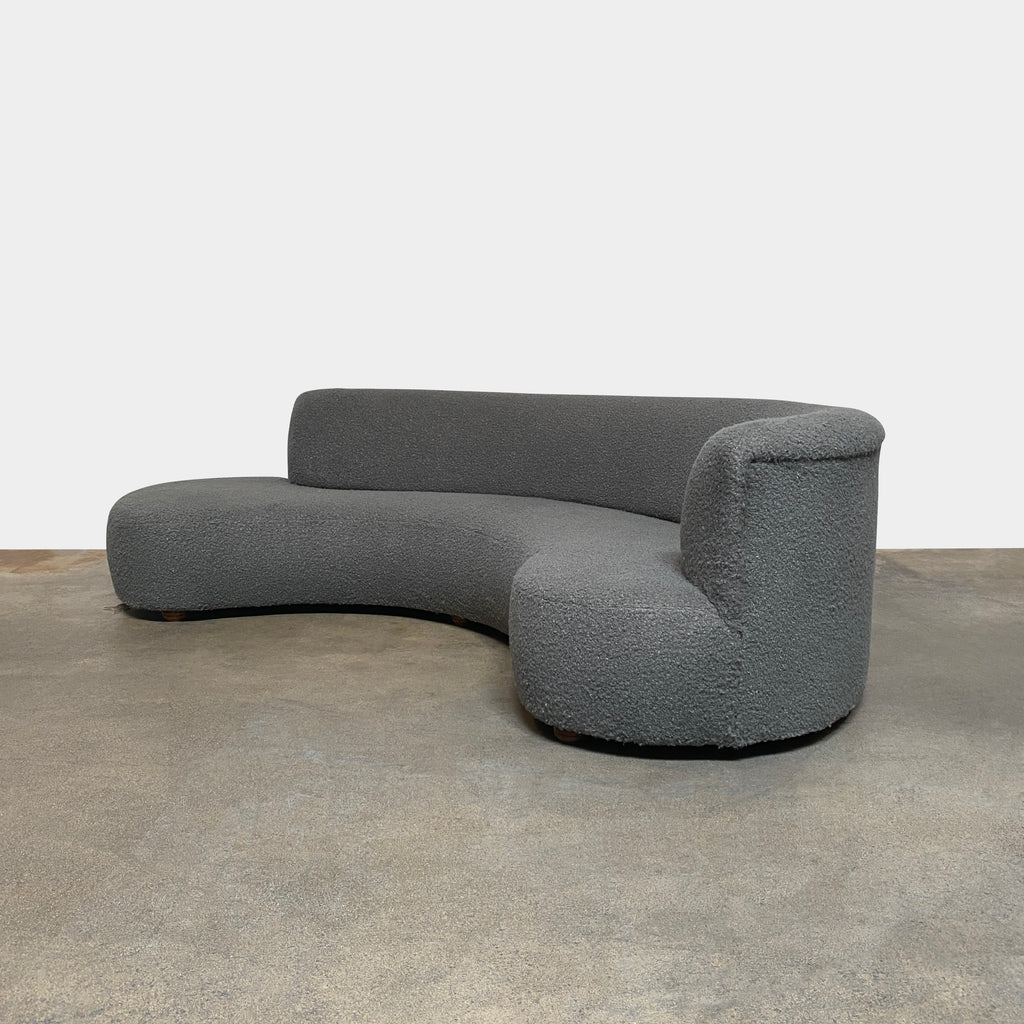 Serpentine Curved Sofa, Sofa - Modern Resale