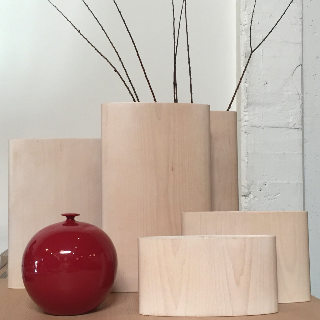 Bent Wood Vase, Accessories - Modern Resale